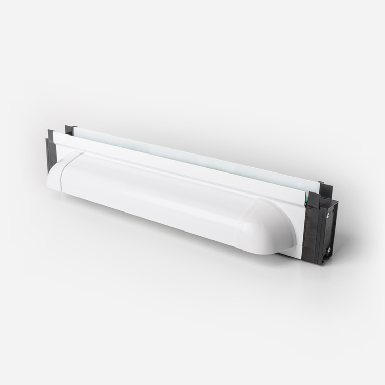 hi-glazed and under-glazed ventilation